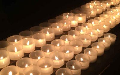 Fastenbrief 8 – Ein Licht anzünden