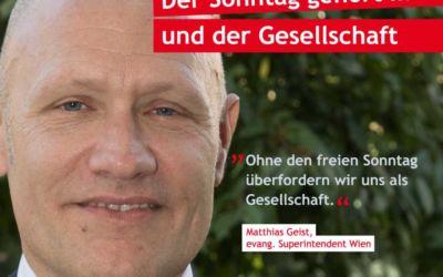 Allianz für den freien Sonntag – jetzt unterschreiben!